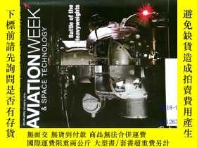 二手書博民逛書店Aviation罕見Week & Space Technolog