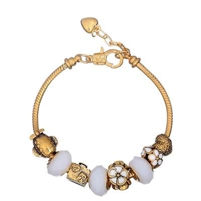 串珠手鍊-琉璃飾品優質有型生日情人節禮物女配件73bn67【時尚巴黎】