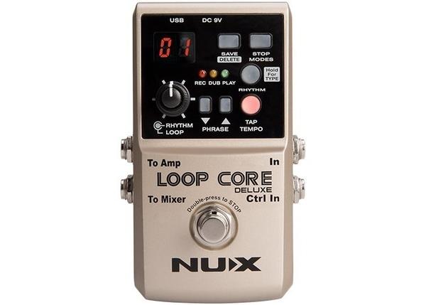 ☆唐尼樂器︵☆免運費送短導 NUX LOOP CORE Deluxe 循環錄音 單顆 效果器 可錄8小時