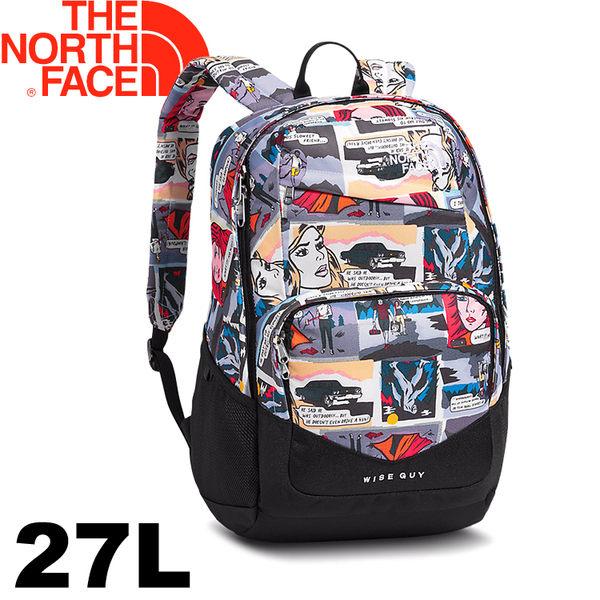 【The North Face 美國 27L 多功能背包《卡通印花》】CHH9/電腦包/後背包/休閒包★滿額送