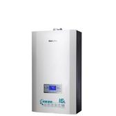 (含標準安裝)櫻花16L強制排氣熱水器渦輪增壓(與DH1693A/DH-1693A同款)熱水器桶裝瓦斯DH-1693AL