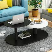 北歐茶几簡約現代小戶型客廳家用簡易小茶几電視柜組合圓形茶几桌 xy4567【優品良鋪】