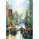 【P2 拼圖】舊金山街景夜光拼圖1000片 HM1000-134