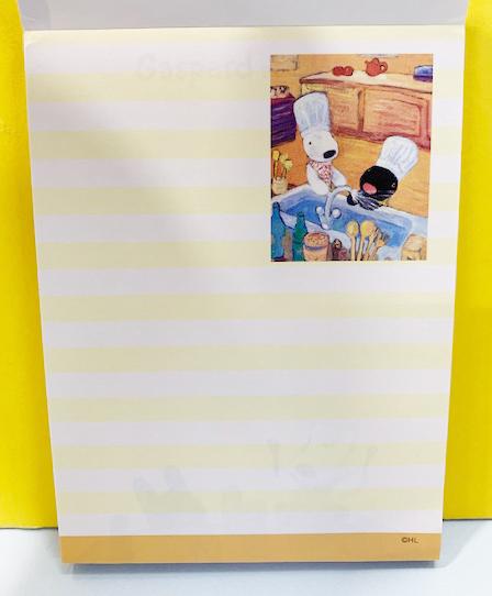 【震撼精品百貨】Gaspard et Lisa_麗莎和卡斯柏~便條紙-藍烘焙#95419