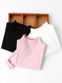 女童白色打底衫女1一3歲秋裝上衣兒童春秋薄款寶寶黑色純棉長袖