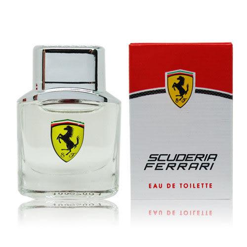 Ferrari 法拉利 Scuderia 勁速男性淡香水  4ml【QEM-girl】