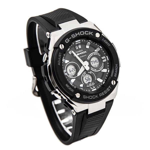 G-SHOCK GST-S300-1A(GST-S300-1ADR) CASIO 卡西歐 太陽能 雙顯 防水 男錶