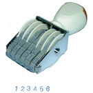 開明3號6連號碼印 單字6.5x4.5mm