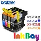 Brother LC669XL+LC665XL (LC669/LC665) BK 相容墨水匣(黑藍紅黃/一組四色)【適用】MFC-J2320 / MFC-J2720