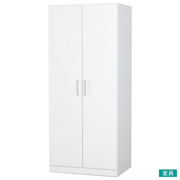 ◎組合式壁面收納衣櫥 衣櫃 ARDELL2 80WR WH DIVIDE NITORI宜得利家居