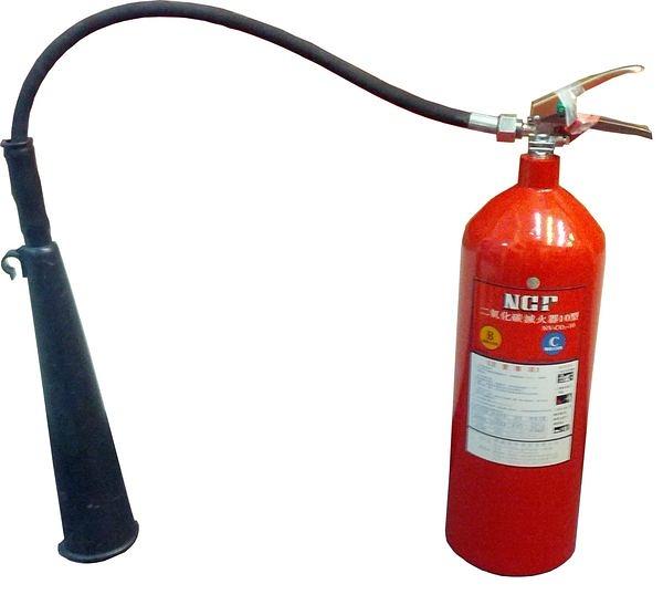 CO2二氧化碳滅火器 消防認證10pCo2 滅火器.10型 (鋼瓶保固2年)