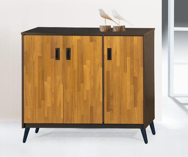 【南洋風休閒傢俱】組合櫃系列 -實木玄關櫃 收納櫃  4尺中鞋櫃  KH298-3