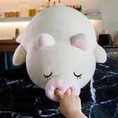 小豬毛絨玩具趴趴豬睡覺抱枕娃娃公仔玩偶可愛萌搞怪女生禮物igo 貝芙莉女鞋