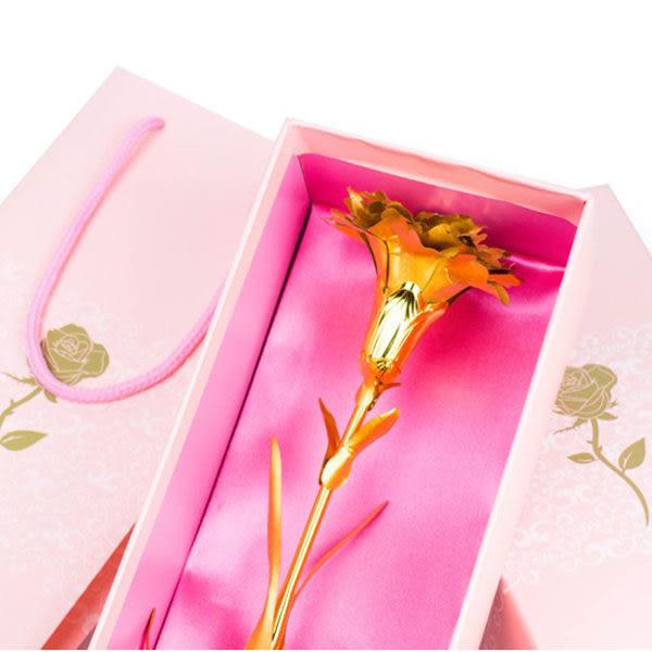 【00465】 **超過7個請宅配** 24K金箔康乃馨 禮盒裝 母親節禮物
