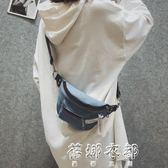 潮韓國帆布女包休閒布包小清新牛仔包文藝百搭單肩斜跨包 蓓娜衣都