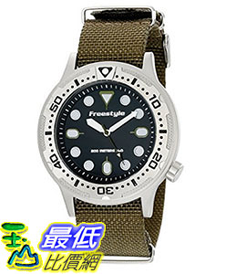 [106美國直購] Freestyle 手錶 Unisex 10019173 B00LCTCDDU Ballistic Dive Analog Display Japanese Quartz Blac