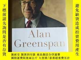 二手書博民逛書店英文原版罕見精裝 Alan Greenspan THE AGE OF TURBULENCE 260 Y1383