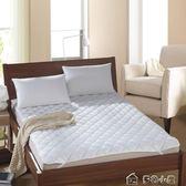 酒店賓館席夢思床墊保潔墊防滑床護墊薄床褥子罩igo  「多色小屋」