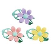 COCONORY 手環花朵三和一固齒器-粉/黃/紫【佳兒園婦幼館】