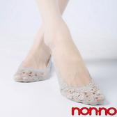 儂儂non-no 深口蕾絲襪套 粉色 6雙/組