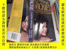 二手書博民逛書店JACKIE:A罕見LASTING IMPRESSIONY11966