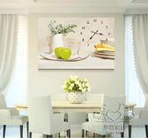 (百貨週年慶)十字繡 鉆石畫客廳貼鉆滿鉆鐘錶掛鐘時鐘新品餐廳花卉歐式臥室
