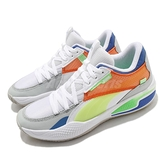 Puma 籃球鞋 Court Rider Twofold LaMelo Ball 白 橘 藍 黃 男鞋 【ACS】 19565801