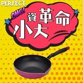 ↙小資族必Buy↙理想品味日式不沾多功能油炸鍋-22cm《PERFECT 理想》
