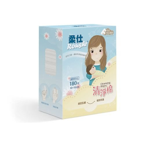 ☆愛兒麗☆柔仕 Roushr 清淨棉(180枚/盒)