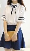 英倫海軍風水手服日韓校服JK制服學生裝畢業班服學院風套裝連身裙