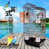 玄鳳虎皮鹦鹉籠子 豪華大型鳥籠 八哥籠大號金屬 牡丹鹩哥繁殖籠