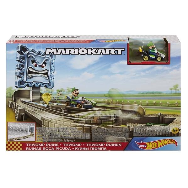 《 風火輪 HOT WHEELS 》Mario Kart系統軌道(隨機出貨) / JOYBUS玩具百貨