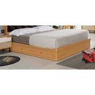 【森可家居】柯瑪3.5尺床底 7ZX179-4 (不含床墊)兩抽屜 單人床 木紋質感 無印風 北歐風