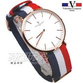 valentino coupeau PARIS 范倫鐵諾 異國風情 英倫情人 指針錶 防水手錶 中性錶 女錶 男錶 V61349BWR3玫