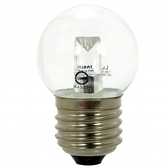 凌尚LED燈泡1.2W E27 圓型 黃光