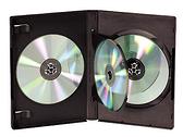 ◆免運費◆DigiStone 光碟片收納盒 四片裝DVD光碟片精裝優質軟盒/鏡面黑色x100PCS