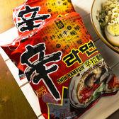 韓國 農心 辛拉麵(120g x 4入/整袋裝)【小三美日】泡麵 / 進口 / 團購
