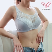 【Yurubra】輕熟微醺內衣。B.C.D罩 無鋼圈 小可愛 防外擴 包覆 居家 內搭 台灣製。※0622灰