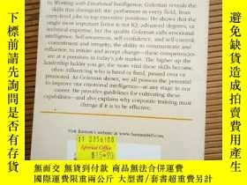 二手書博民逛書店working罕見with emotional intellig
