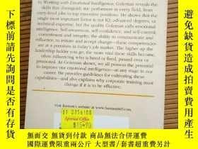 二手書博民逛書店working罕見with emotional intellig