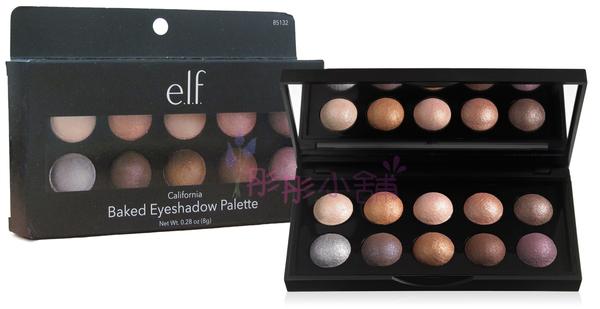 e.l.f. Baked Eyeshadow Palette 10色烘培眼影盤 elf 原廠型號85132  2016/08製造【彤彤小舖】