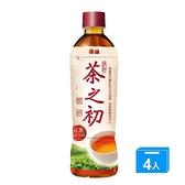 茶之初紅茶 535ml*4【愛買】