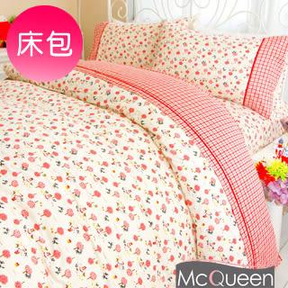 【McQueen‧麥皇后】《赤帽与狼》精梳棉雙人床包三件組