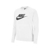 Nike 長袖T恤 NSW Essential Fleece Crew Top 灰 黑 女款 大學T 刷毛 運動休閒 【PUMP306】 BV4113-051