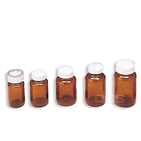 《台製》茶色玻璃瓶 Amber Glass Bottle with Screw Tnread