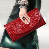 錢包 大容量真皮手拿包女包韓版新款潮小包包時尚氣質名媛晚宴手包艾維朵