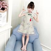 女童旗袍 中國風古裝民族服裝兒童民國風旗袍LJ8875『小美日記』
