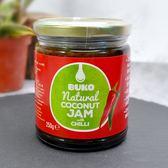 BUKO 天然有機辣椒椰子花蜜果醬250g ★愛家嚴選純素好食 天然醣源替代蜂蜜 素食抹醬 全素