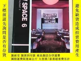 二手書博民逛書店NEW罕見SPACE 6 CAFE&RESTAURANT llY