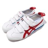 Asics Tiger Mexico 66 Baja 休閒鞋 白藍紅 經典款 魔鬼氈 男鞋 女鞋 【PUMP306】 1183A599100